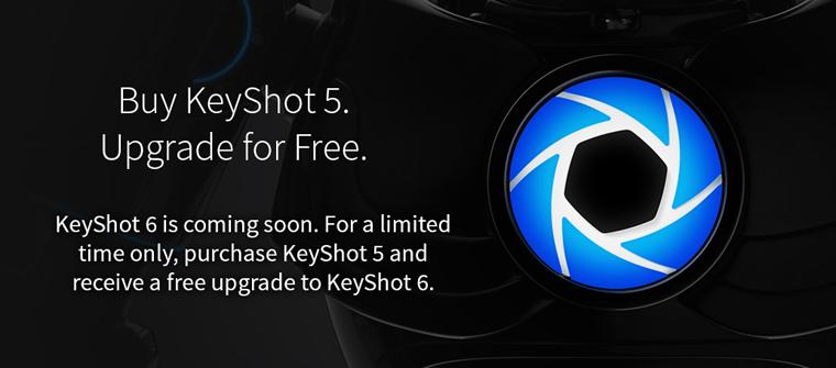 Free Upgrade to KeyShot 6 - Buy Today, UK Reseller
