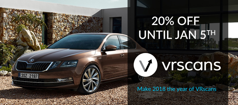 20% Off VRScans Subscriptions