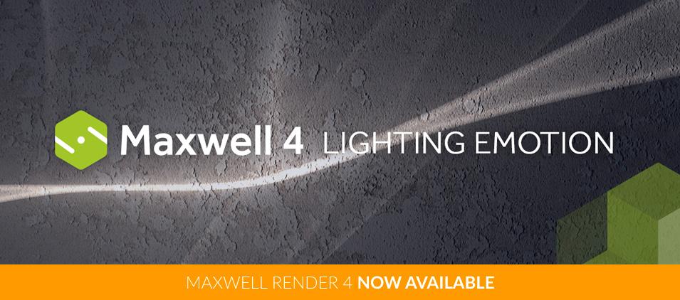 Maxwell Render 4