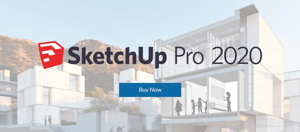 SketchUp Pro 2020
