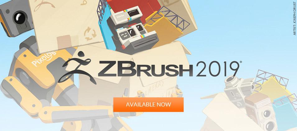 Buy ZBrush 2019