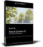 DOSCH 3D: Trees & Conifers for MaxwellRender