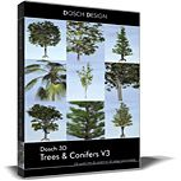 DOSCH 3D: Trees & Conifers V3