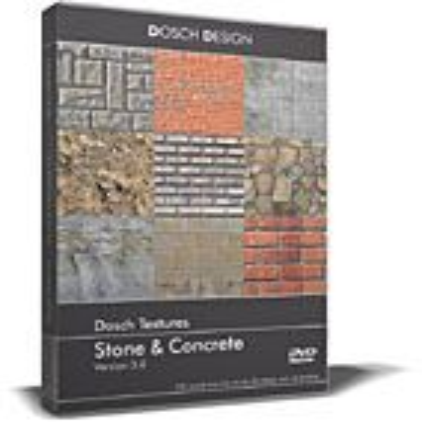DOSCH Textures: Stone & Concrete V3
