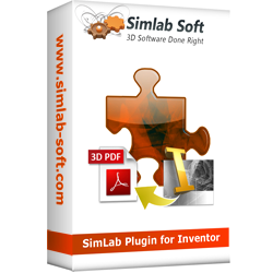 SimLab 3D PDF exporter for INVENTOR