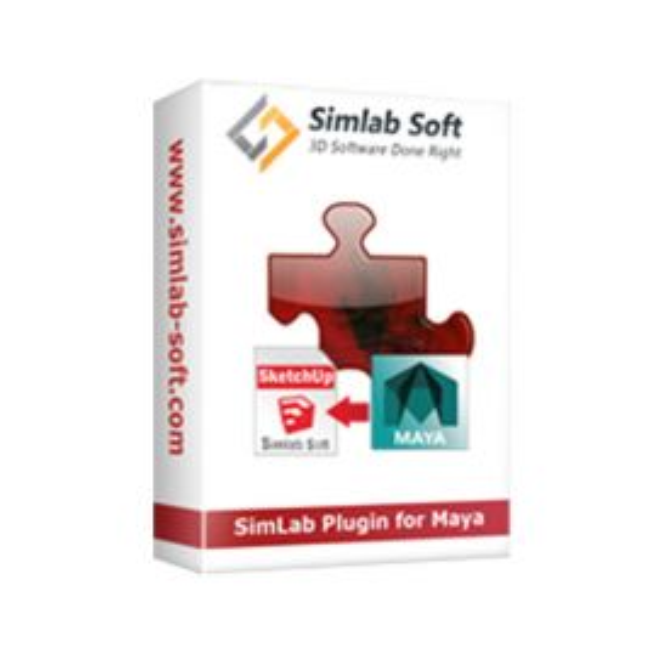 SimLab SketchUp exporter for Maya