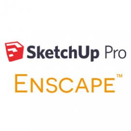 SketchUp Pro and Enscape 12 Month Bundle