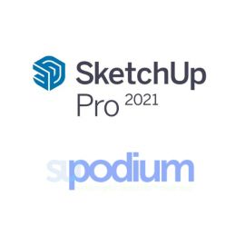 SketchUp Pro and SU Podium Bundle