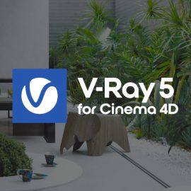 V-Ray for Cinema 4D Monthly Subscription