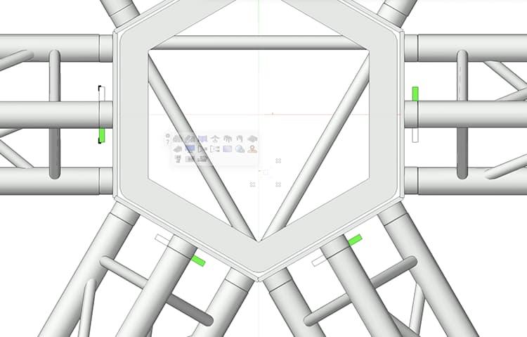 Improved Truss Handling in Vectorworks 2022